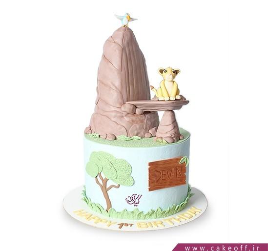 کیک تولد کودک - کیک شیر شاه ۸ | کیک آف