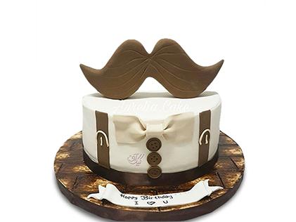 کیک روز پدر بارت | کیک آف