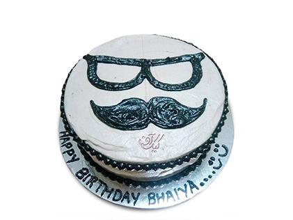 کیک روز پدر خوش سیبیل 1 | کیک آف