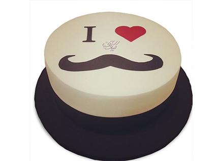 کیک روز مرد - کیک سیبیل کلفت | کیک آف