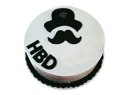 کیک روز مرد - کیک سیبیلوی من | کیک آف