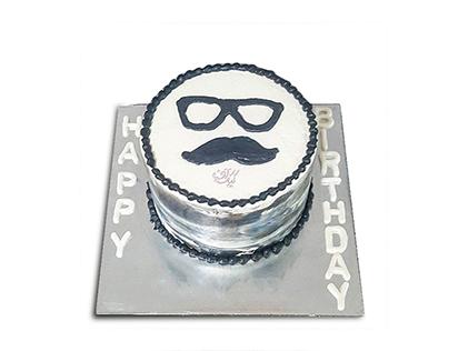 سفارش کیک روز پدر - کیک خوش سیبیل 2 | کیک آف