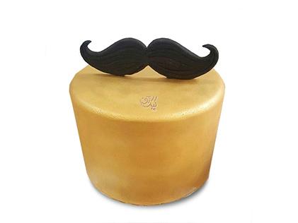 خرید کیک روز پدر - کیک سیبیل خان | کیک آف