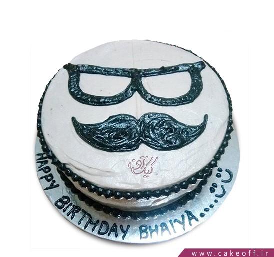 کیک روز پدر خوش سیبیل ۱ | کیک آف