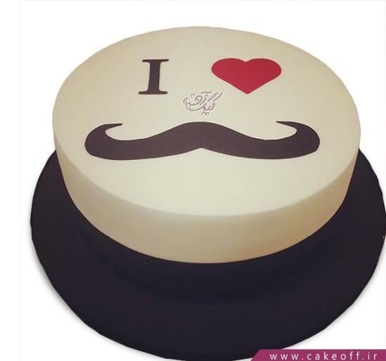 کیک سیبیل کلفت