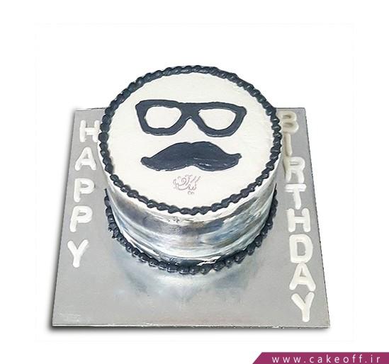 سفارش کیک روز پدر - کیک خوش سیبیل ۲ | کیک آف