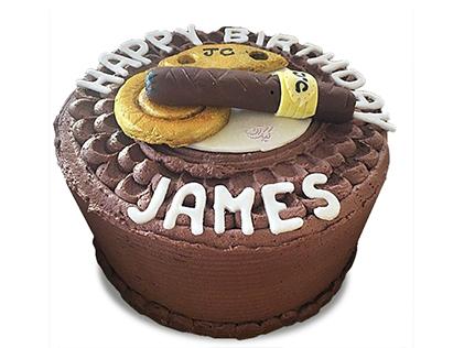 سفارش کیک روز مرد - کیک سیگار برگ کوبایی  | کیک آف