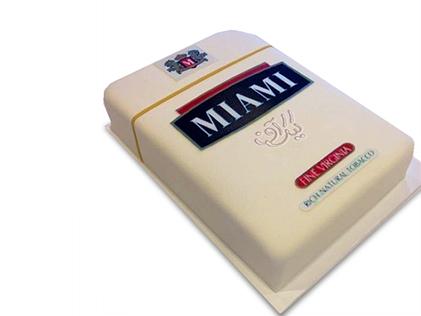سفارش کیک روز مرد - کیک سیگار، دود، درد | کیک آف