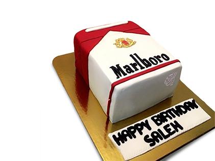 کیک روز مرد - کیک سیگار کمتر، زندگی بهتر | کیک آف