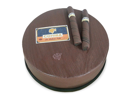 کیک روز مرد - کیک سیگار برگ 1 | کیک آف
