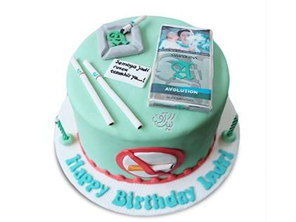 کیک روز مرد - کیک دخانیات ممنوع | کیک آف