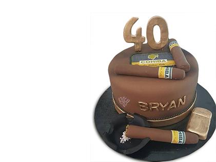 کیک روز مرد - کیک سیگار برگ 3 | کیک آف