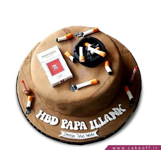 کیک کاش سیگار نمی کشیدی