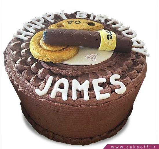 کیک سیگار برگ کوبایی