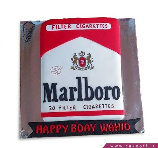 کیک امان از سیگار