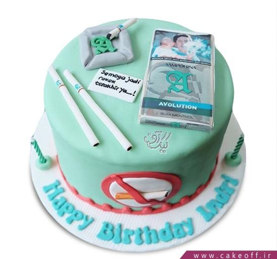 کیک دخانیات ممنوع