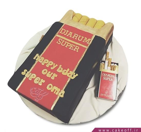 کیک سیگار نکشی زندگیمون بهتره