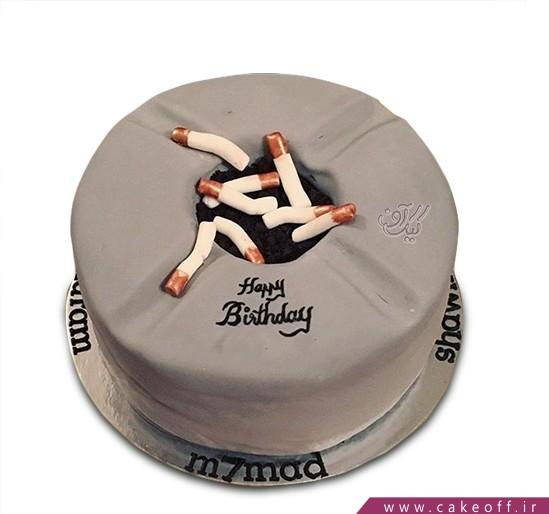 کیک ته سیگار