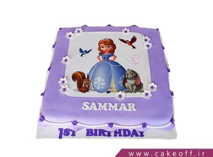 مدل کیک تولد دخترانه - کیک سوفیا | کیک آف