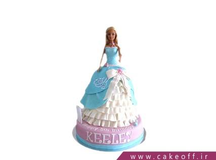 کیک دخترانه باربی دلربا | کیک آف