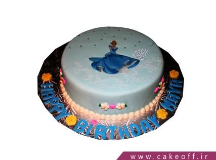 کیک تولد دخترانه جدید - کیک سیندرلا دنسر | کیک آف