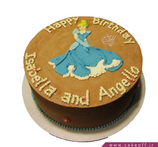 کیک شکلاتی سیندرلا | کیک آف