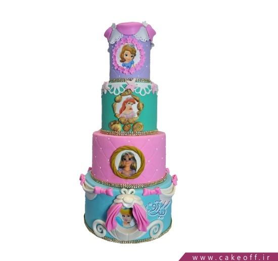 کیک تولد دخترانه سیندرلا 2