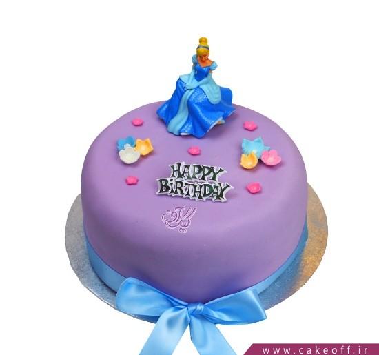 کیک دخترانه سیندرلا 3