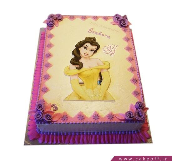 کیک سیندرلای زیبا