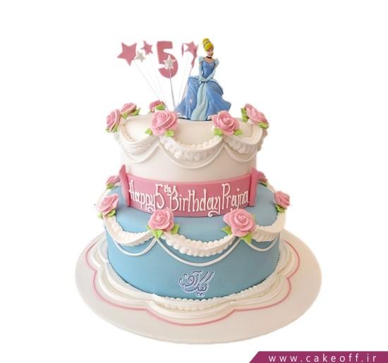 جدیدترین مدل کیک تولد دخترانه - کیک سیندرلا در باغ گل | کیک آف