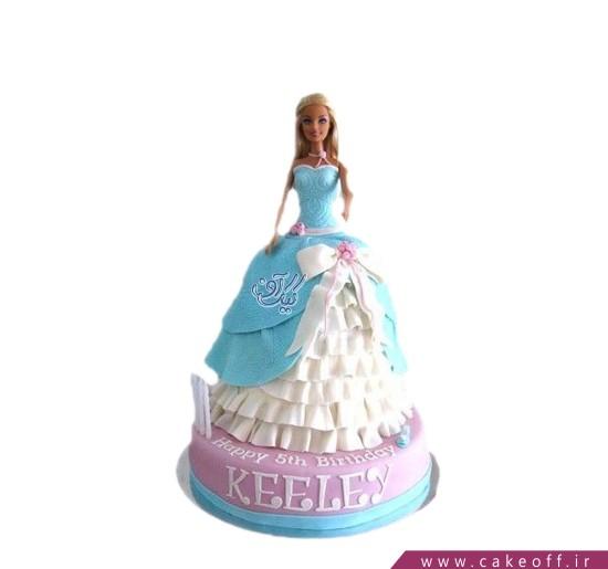 کیک دخترانه باربی دلربا