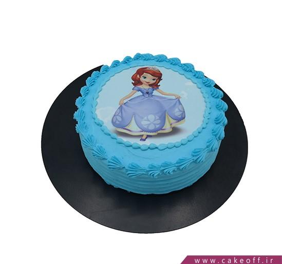 کیک تولد دخترانه جدید - کیک سوفیا می درخشد | کیک آف