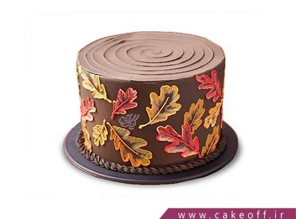 کیک خاص - کیک برگ های پاییزی | کیک آف