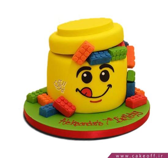 کیک تولد بچه گانه لگو