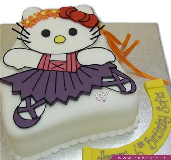 کیک تولد کیتی بالرین
