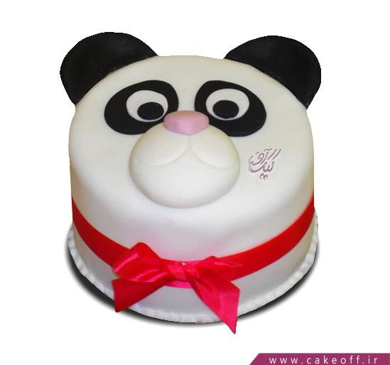 خرید انواع کیک تولد در اصفهان - کیک کارتونی پاندای خسته | کیک آف