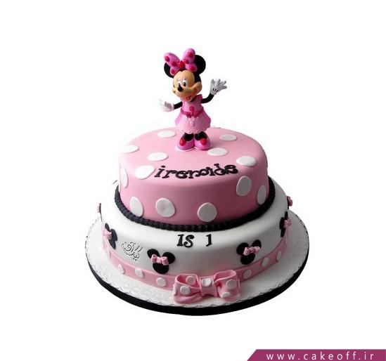 کیک تولد مینی موس دنسر