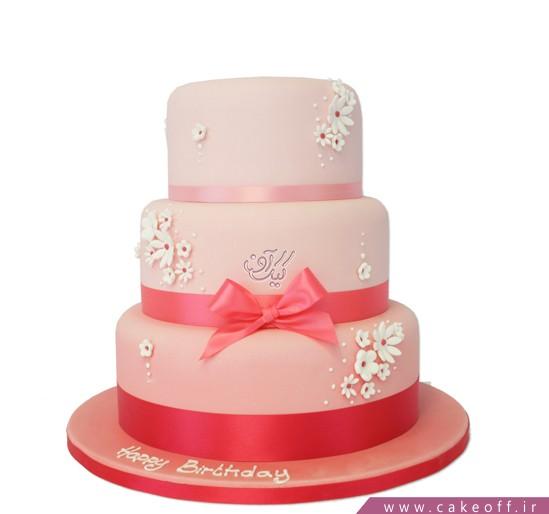 سفارش کیک عروسی - کیک عقد و عروسی شیدرخ | کیک آف