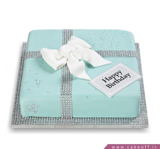 خرید کیک تولد - کیک تولد فیروزه | کیک آف