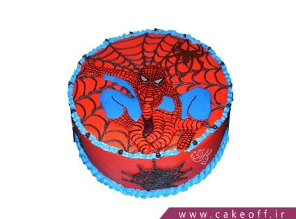 کیک تولد پسرانه جدید - کیک مرد عنکبوتی ماجراجو | کیک آف