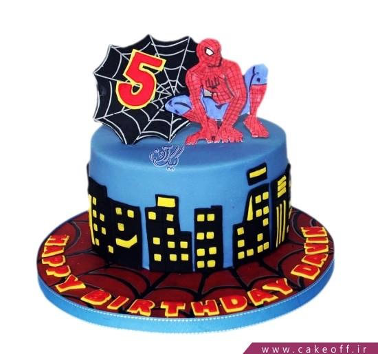 کیک تولد پسرانه جدید - کیک مرد عنکبوتی محبوب | کیک آف