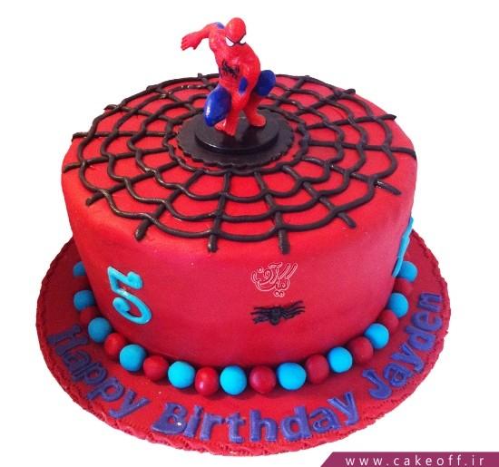 کیک تولد مرد عنکبوتی 9