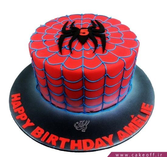 کیک تولد پسرانه مرد عنکبوتی 11