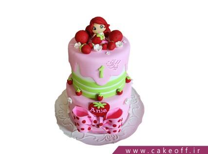 کیک دختر توت فرنگی طبقاتی | کیک آف
