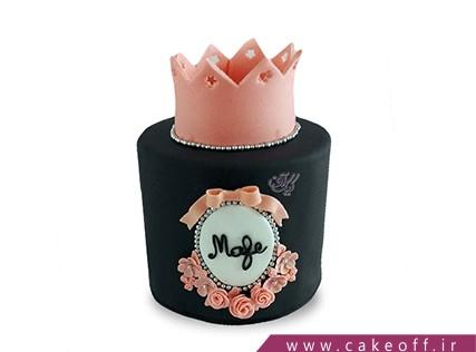 انواع کیک تولد دخترانه - کیک کراون | کیک آف