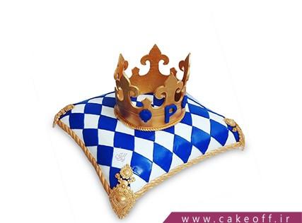 جدیدترین کیک تولد پسرانه - کیک پادشاه من | کیک آف
