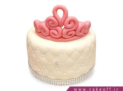 کیک روز دختر - کیک دخترانه رجینا | کیک آف