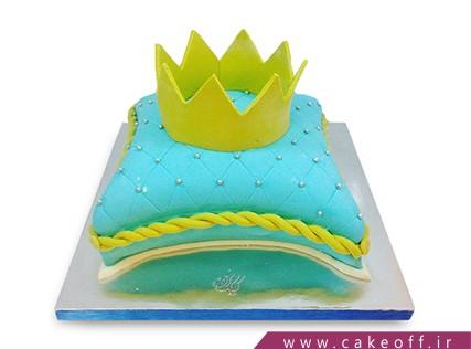 کیک های تولد دخترانه زیبا - کیک زرتاج | کیک آف