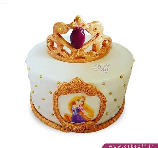 انواع کیک تولد دخترانه - کیک کرونا | کیک آف