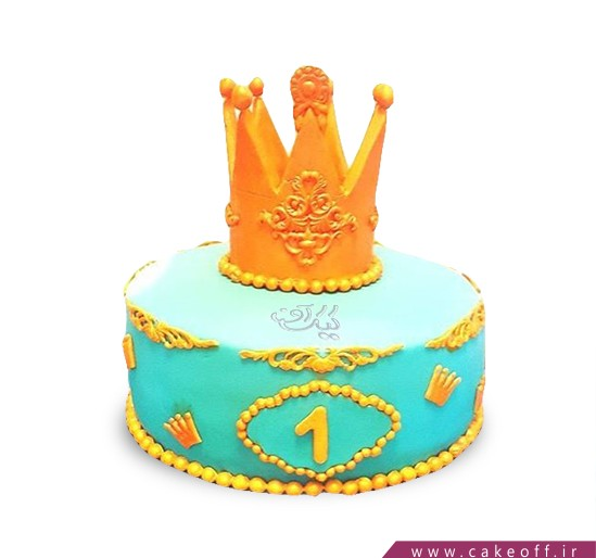 کیک روز دختر - کیک کویین جان | کیک آف